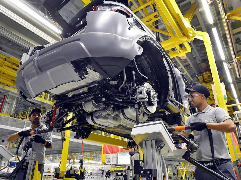 Fábrica da Land Rover em Itatiaia