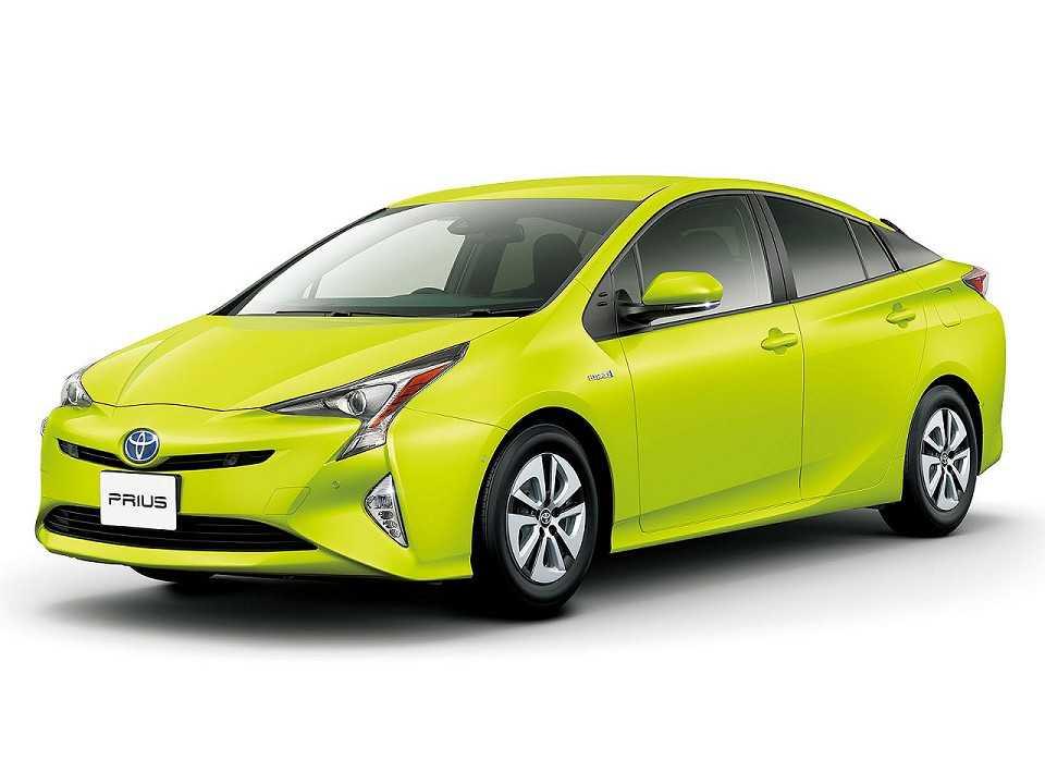 Toyota Prius com a nova tinta que ajuda a esfriar o carro