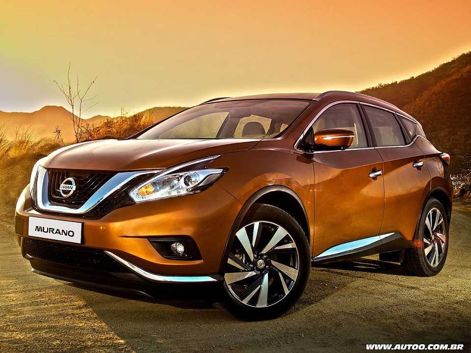 Terceira geração do Nissan Murano, que será vendida neste ano na América Latina