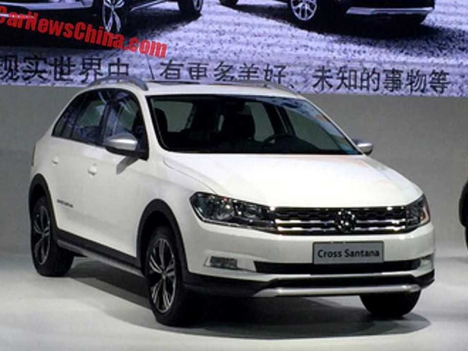 Volkswagen Cross Santana vendido na China