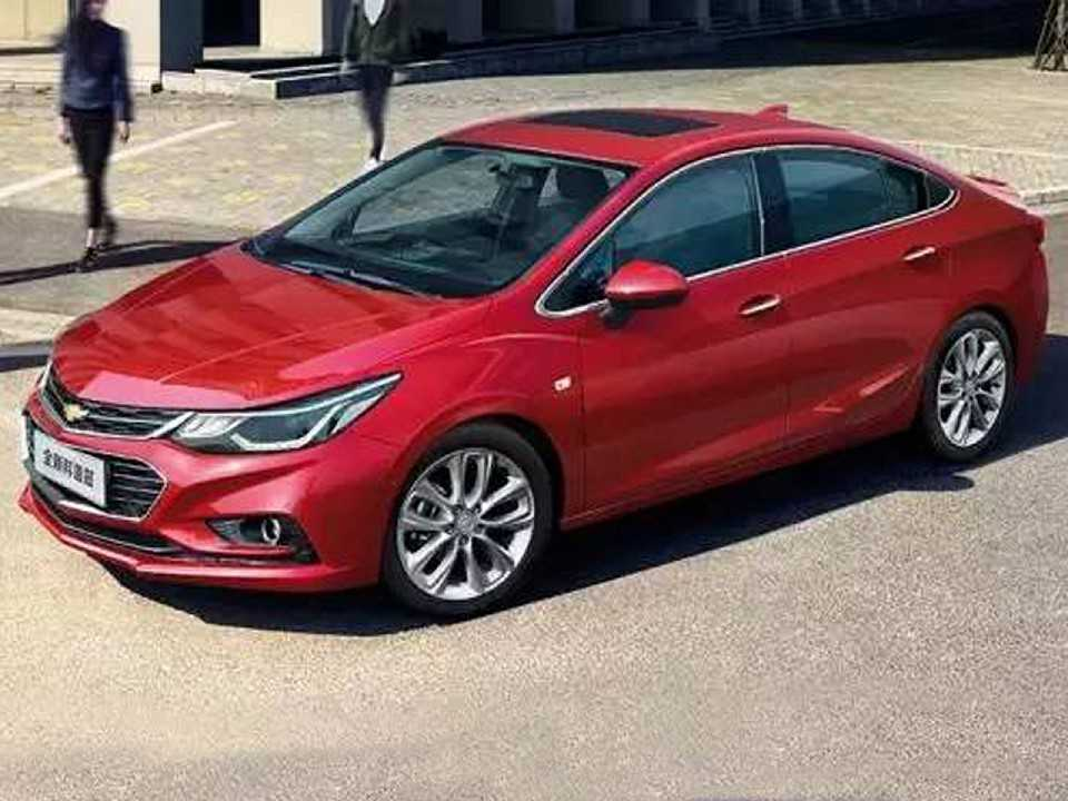 O Cruze chinês adota o visual global: sem exclusividade mais