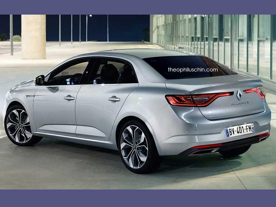 Projeção da segunda geração do Renault Fluence