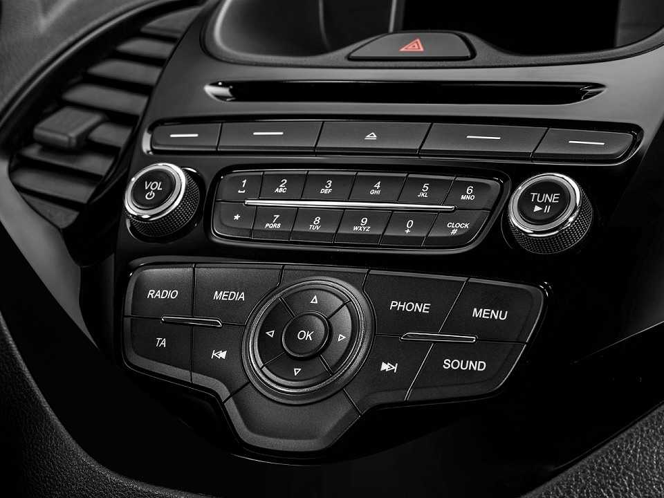 FordKa 2017 - console central