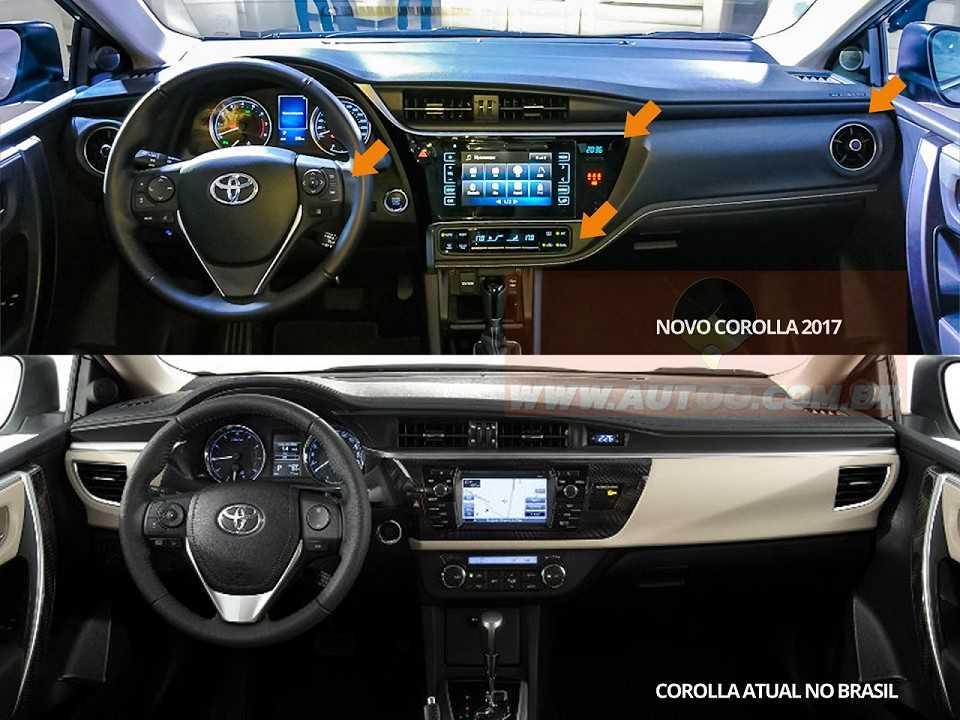 Novo Toyota Corolla 2017 233 Apresentado Pela Primeira Vez