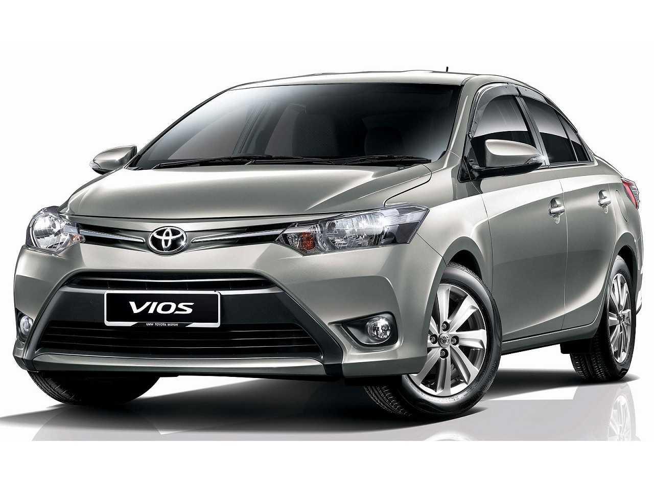 Acima o Toyota Vios comercializado em alguns mercados do Sudeste asiático