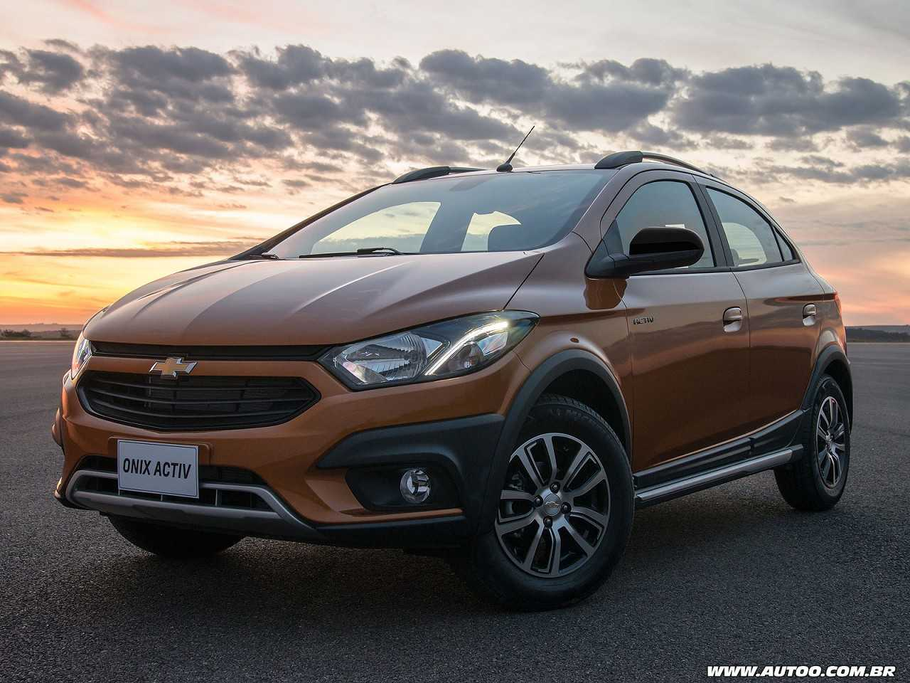 ChevroletOnix 2017 - ângulo frontal