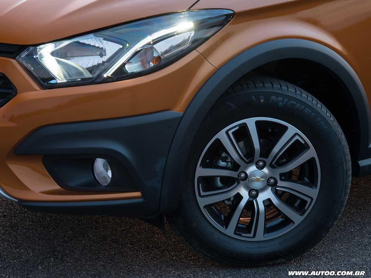ChevroletOnix 2017 - rodas