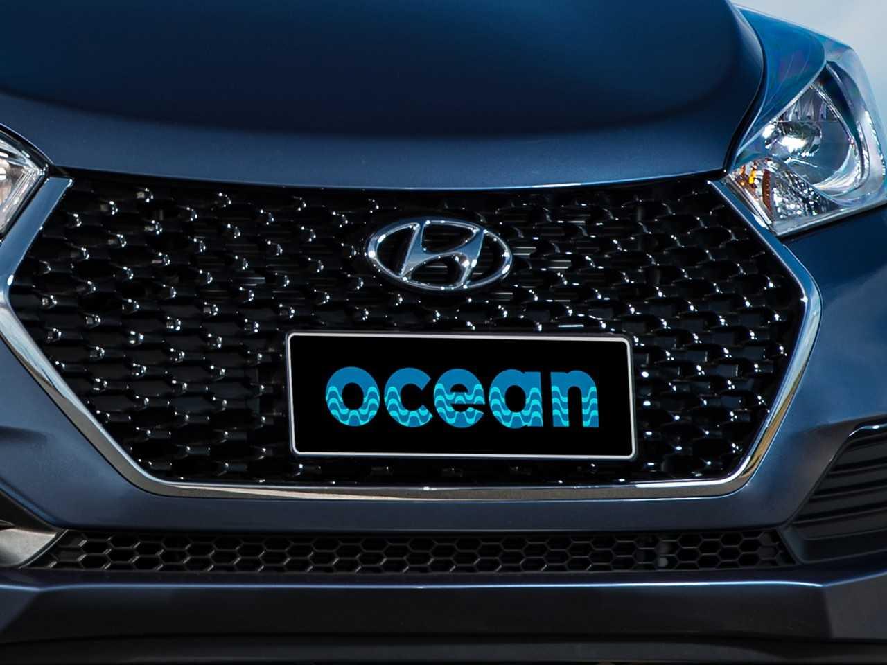 HyundaiHB20S 2017 - grade frontal