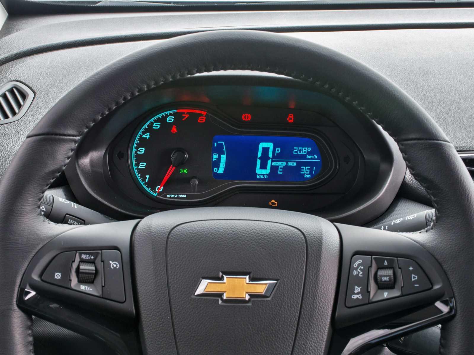 ChevroletOnix 2017 - painel de instrumentos