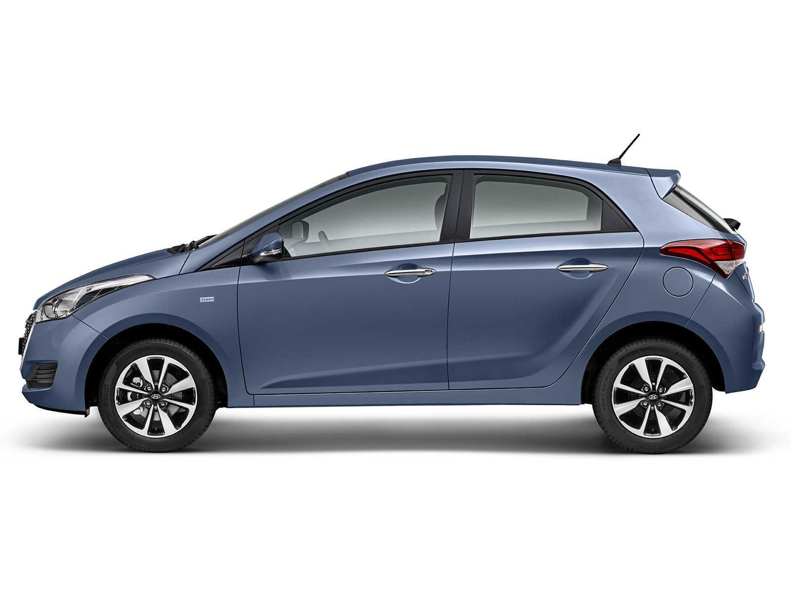 HyundaiHB20 2017 - lateral