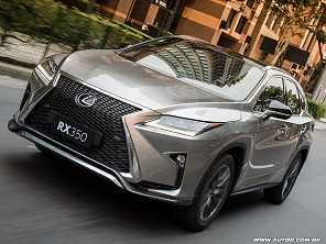 Nova geração do Lexus RX 350 chega ao país