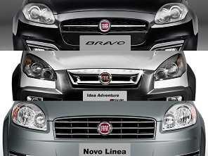 Fiat garante que Idea, Bravo e Linea seguem em produção