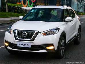 Entre o Nissan Kicks e o Chevrolet Tracker