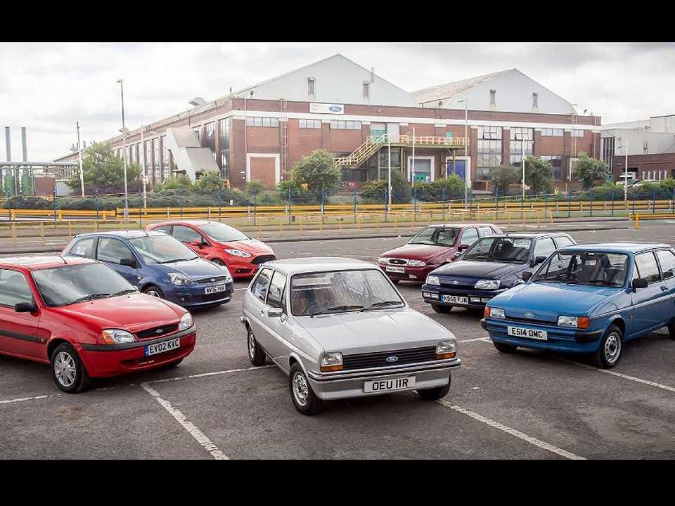 Ford Fiesta celebra 40 anos