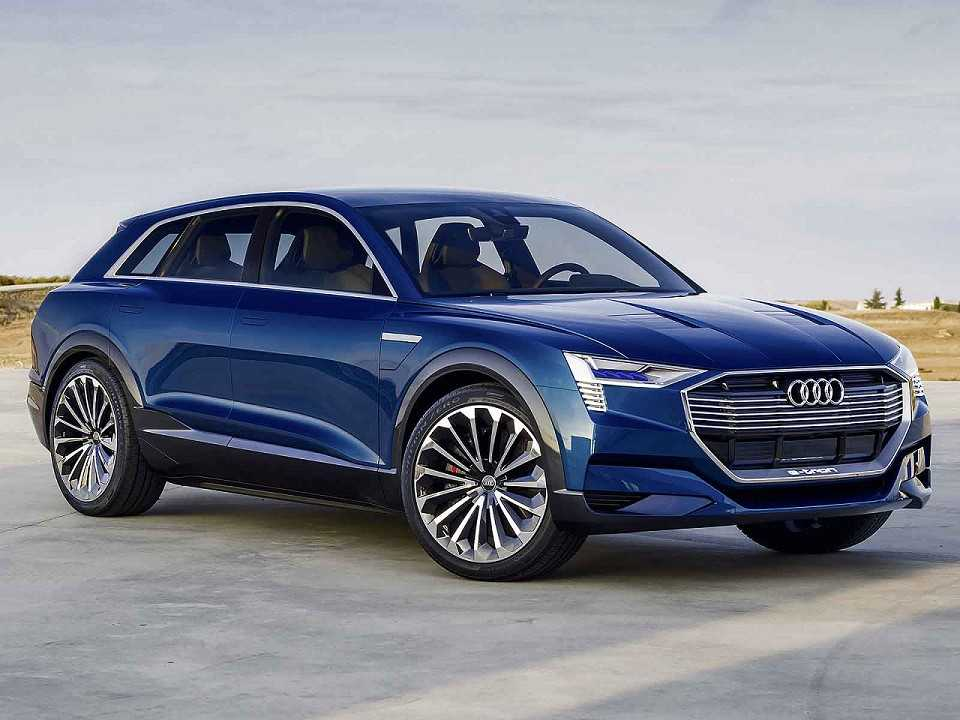 Audi e-tron quattro concept apresentado em 2015