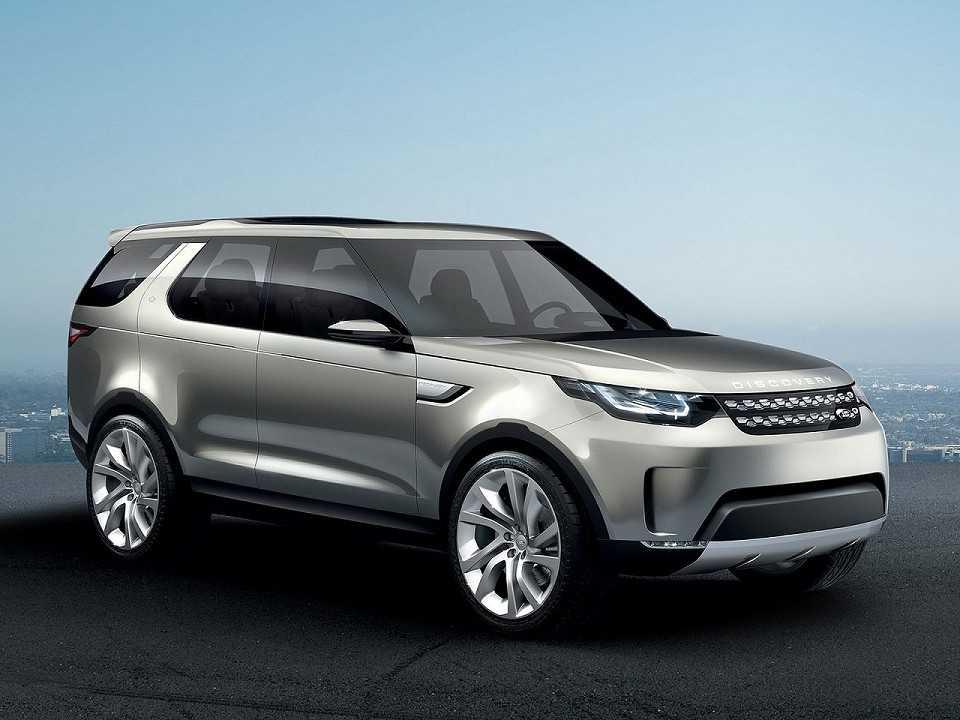 Conceito Land Rover Discovery Vision Concept antecipa as formas da nova geração do modelo