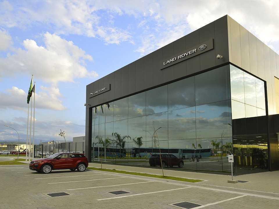 Fábrica da Jaguar Land Rover em Itatiaia, RJ