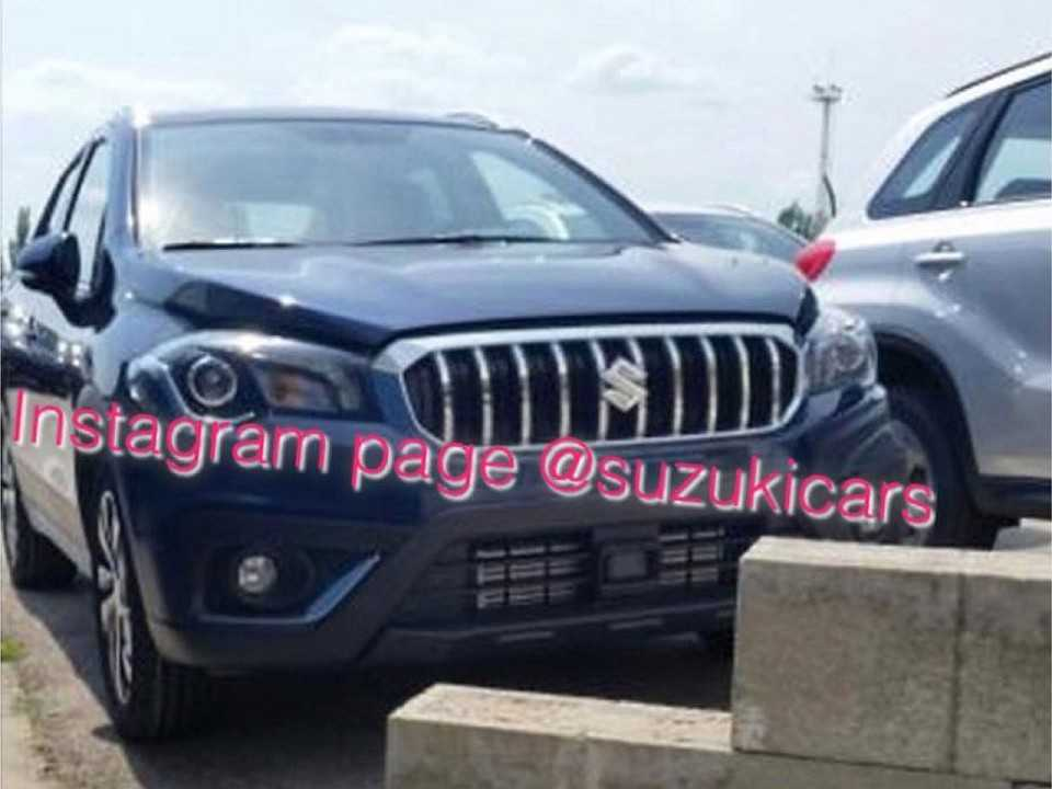 Facelift do Suzuki S-Cross divulgado no Instagram