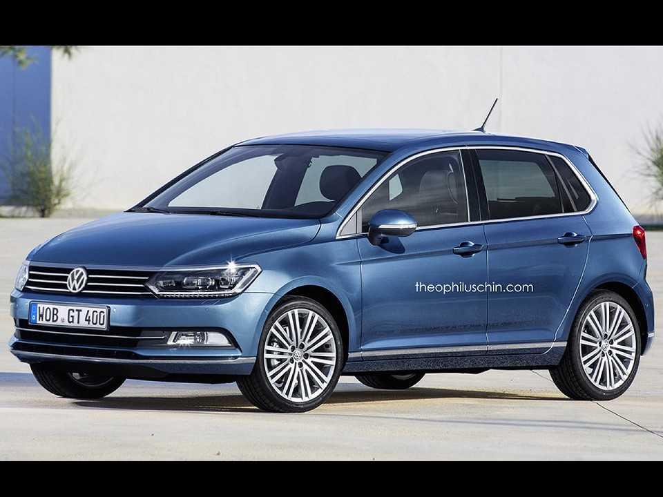 Projeção da nova geração do VW Polo na Europa