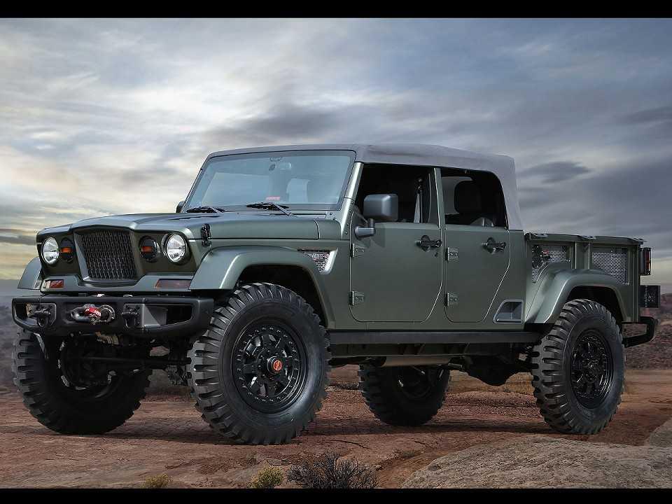 Picape Jeep