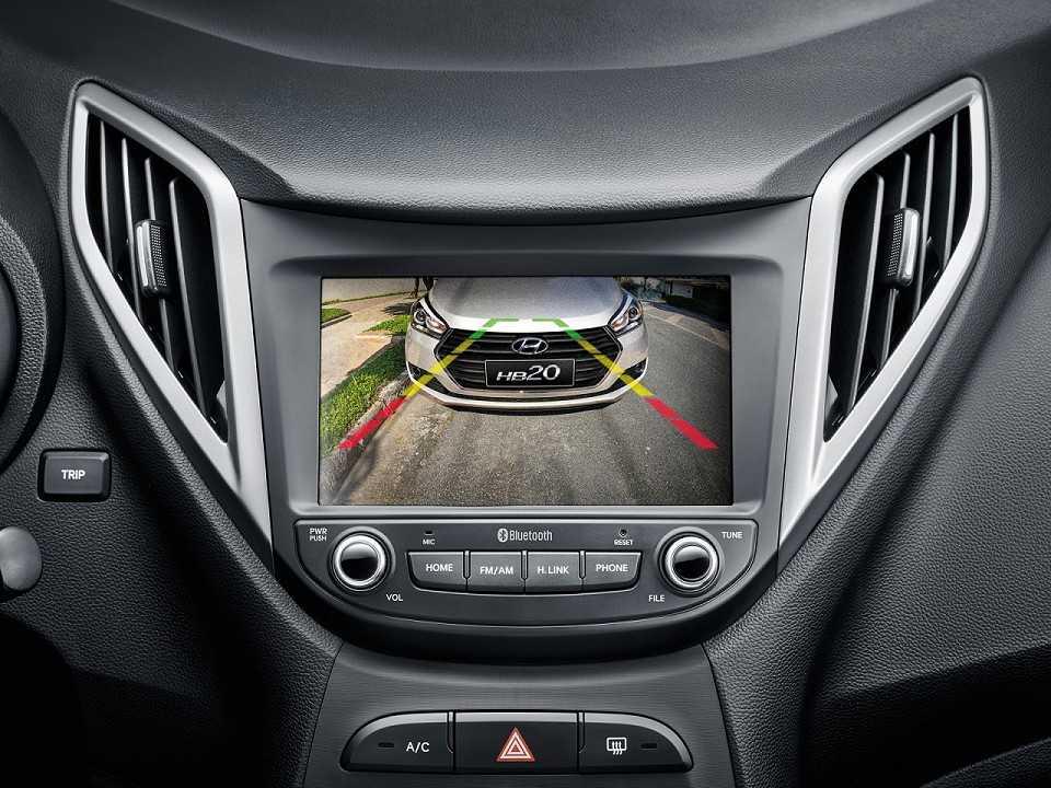 HyundaiHB20 2017 - console central
