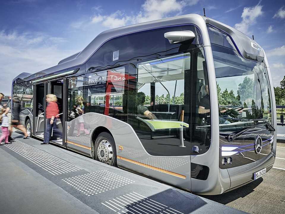 Ônibus do Futuro, da Mercedes-Benz