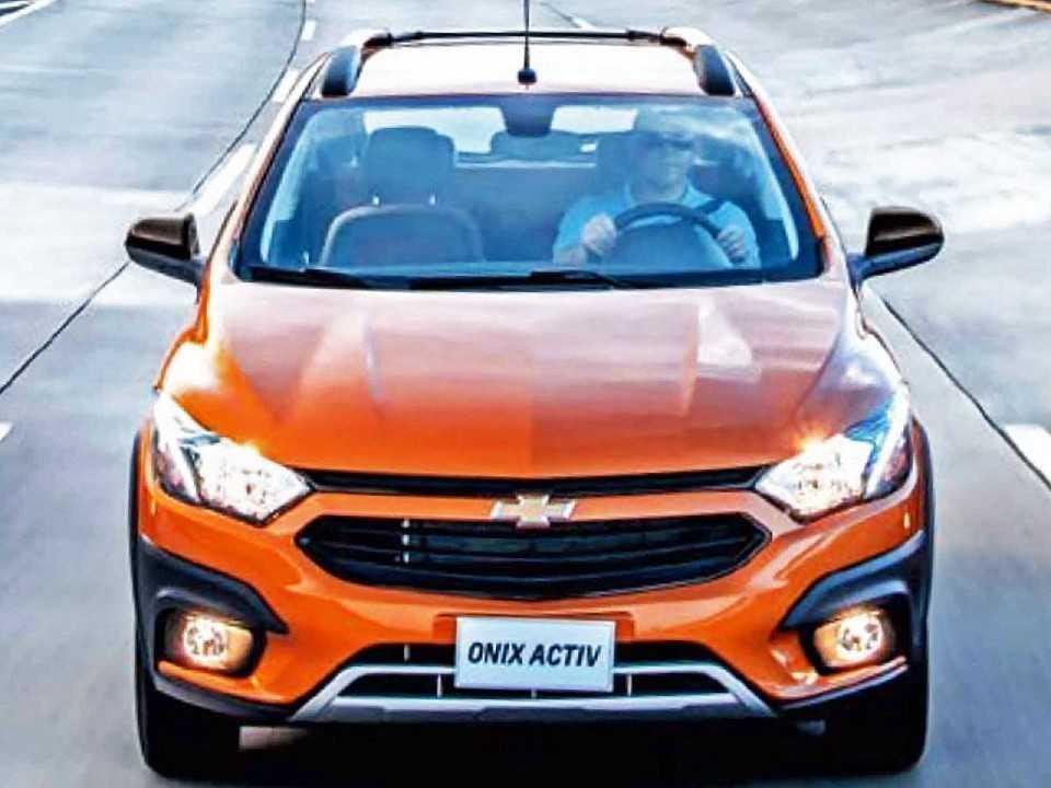 Chevrolet Onix Activ, a versão aventureira do hatch