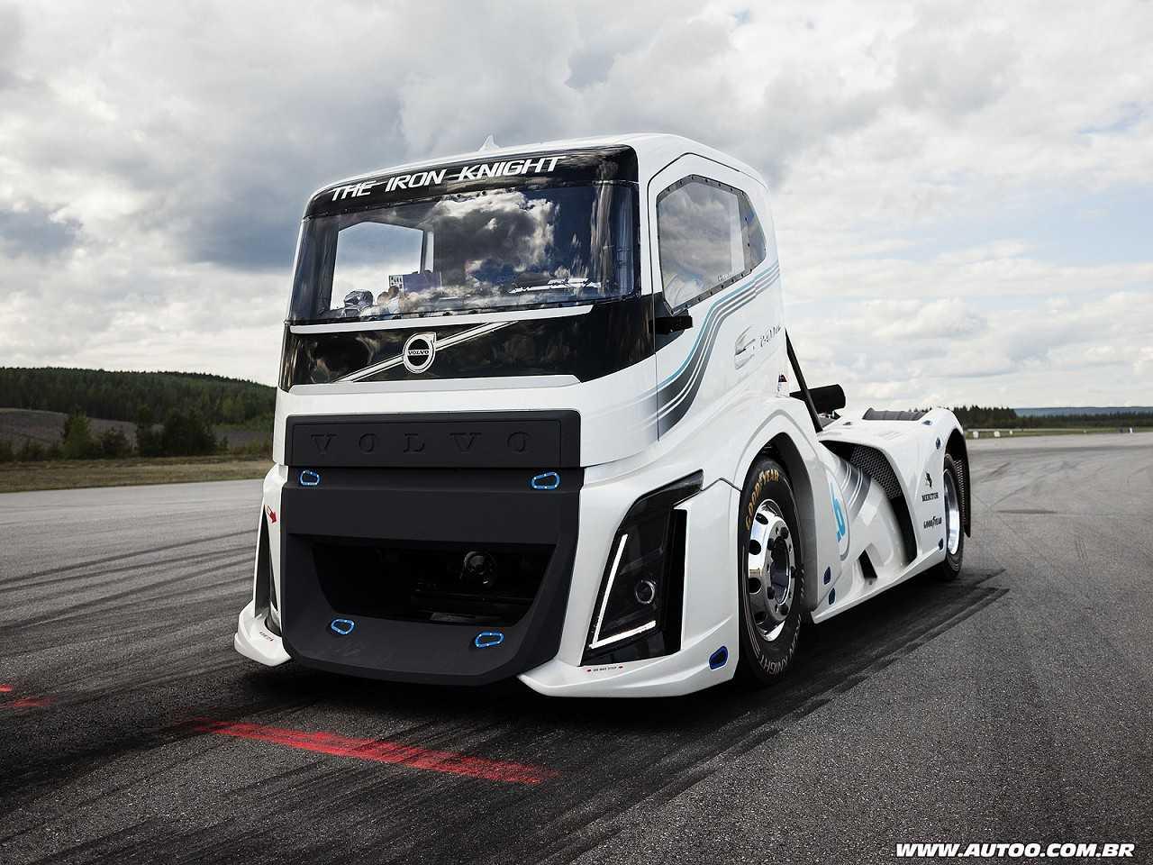 Volvo The Iron Knight, o caminhão mais rápido do mundo