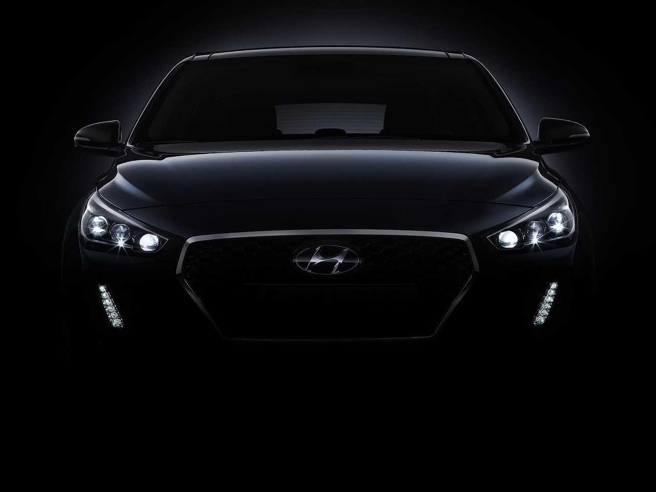 Teaser da nova geração do Hyundai i30