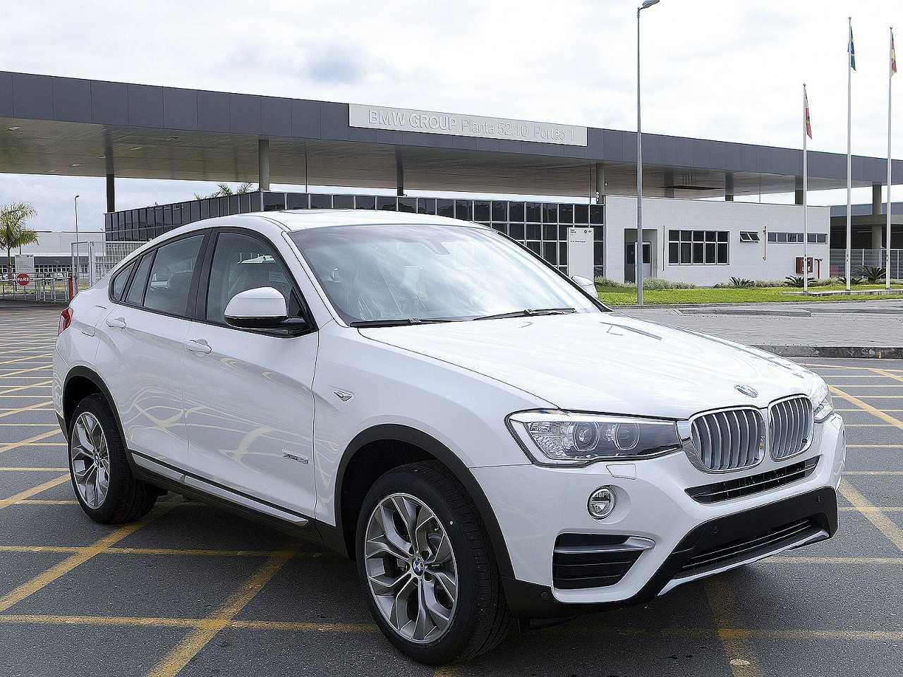 BMW X4 produzido no Brasil