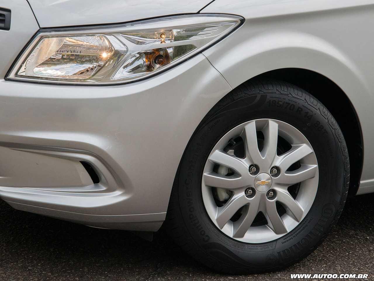ChevroletPrisma 2017 - rodas