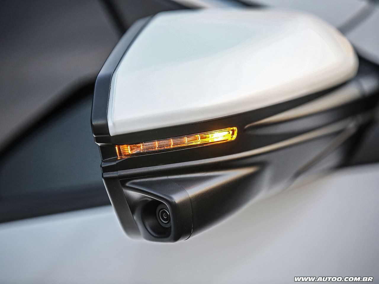HondaCivic 2017 - retrovisores
