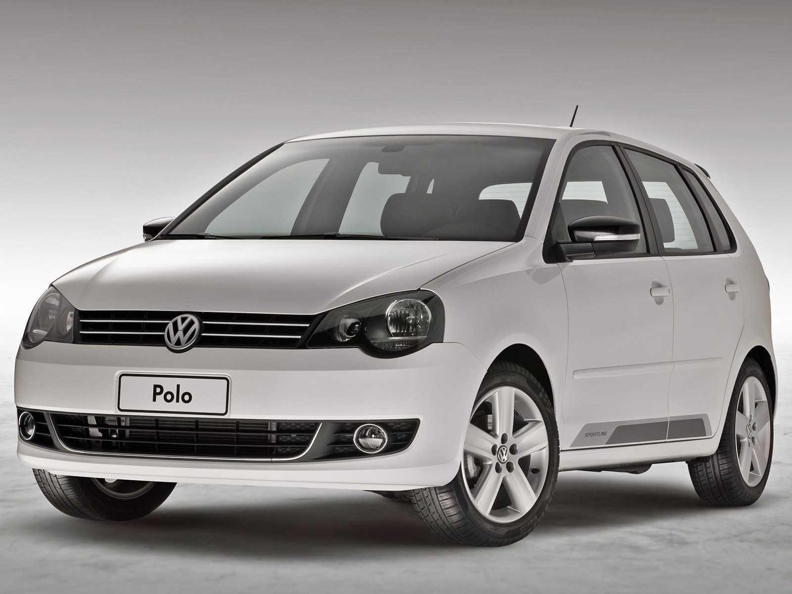 VolkswagenPolo 2014 - ângulo frontal