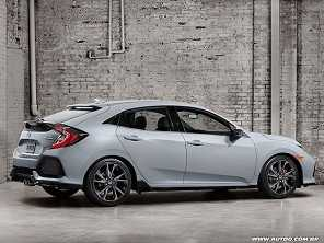Honda apresenta o novo Civic hatch