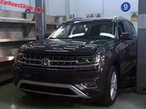 Volkswagen Teramont � flagrado na China