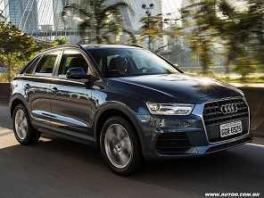 Audi Q3 nacional vira flex em setembro