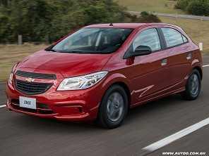 Chevrolet Onix é o carro mais vendido do Brasil em 2017