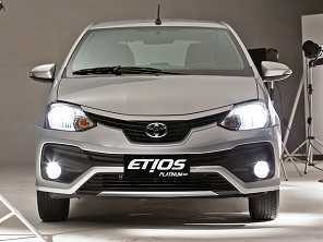 Etios ajuda Toyota a chegar no inédito 4º lugar em vendas