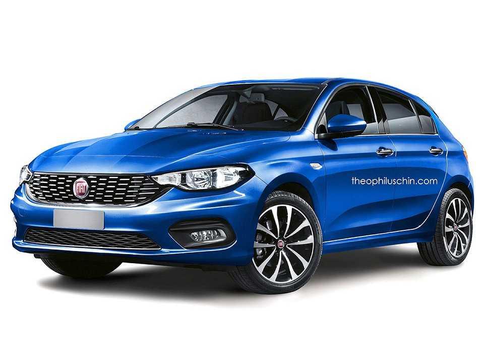 Projeção do Fiat Punto 2017