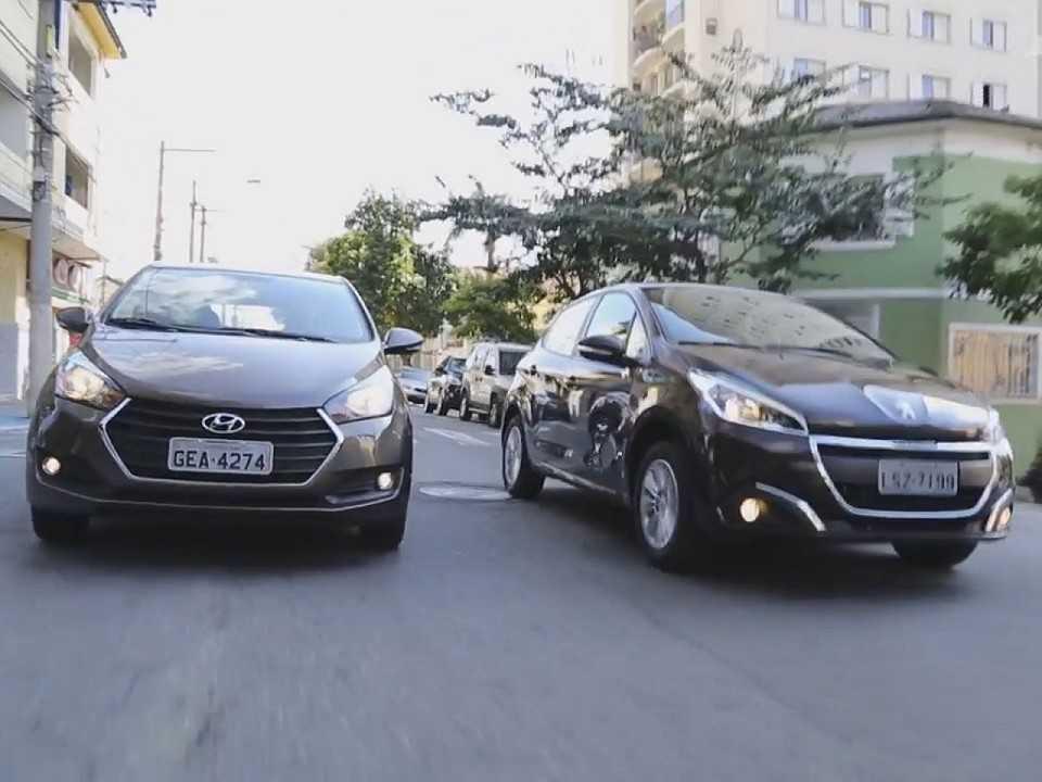 Hyundai HB20 Turbo vs. Peugeot 208 1.2
