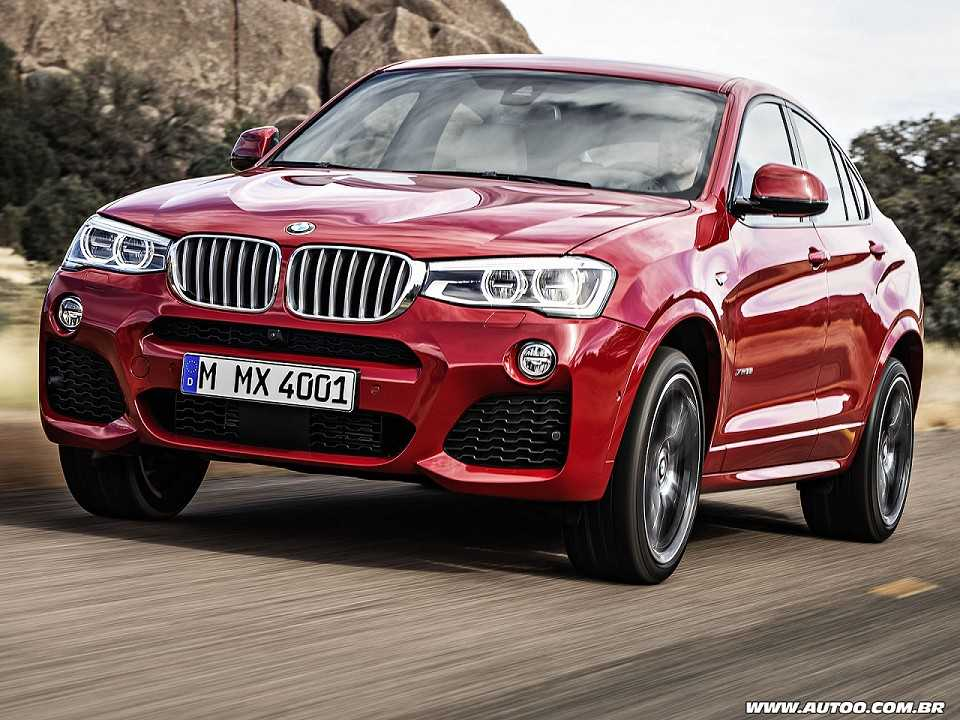 BMW X4 2016 - ângulo frontal