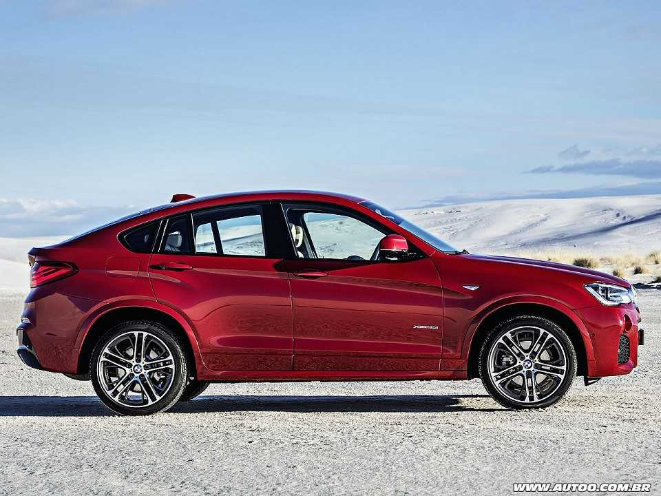BMWX4 2016 - lateral