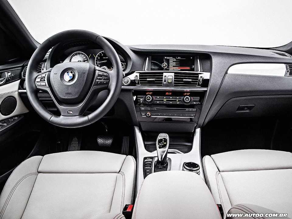 BMWX4 2016 - painel