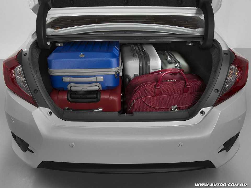 HondaCivic 2017 - porta-malas