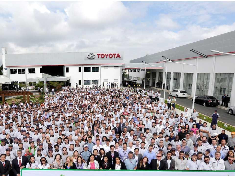 Fábrica da Toyota em São Bernardo do Campo (SP)