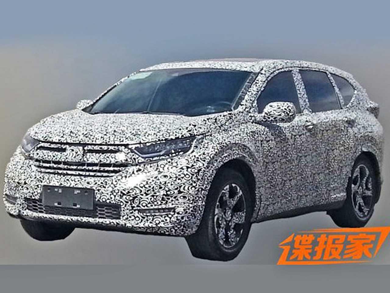 Honda CR-V 2018 é flagrado na China