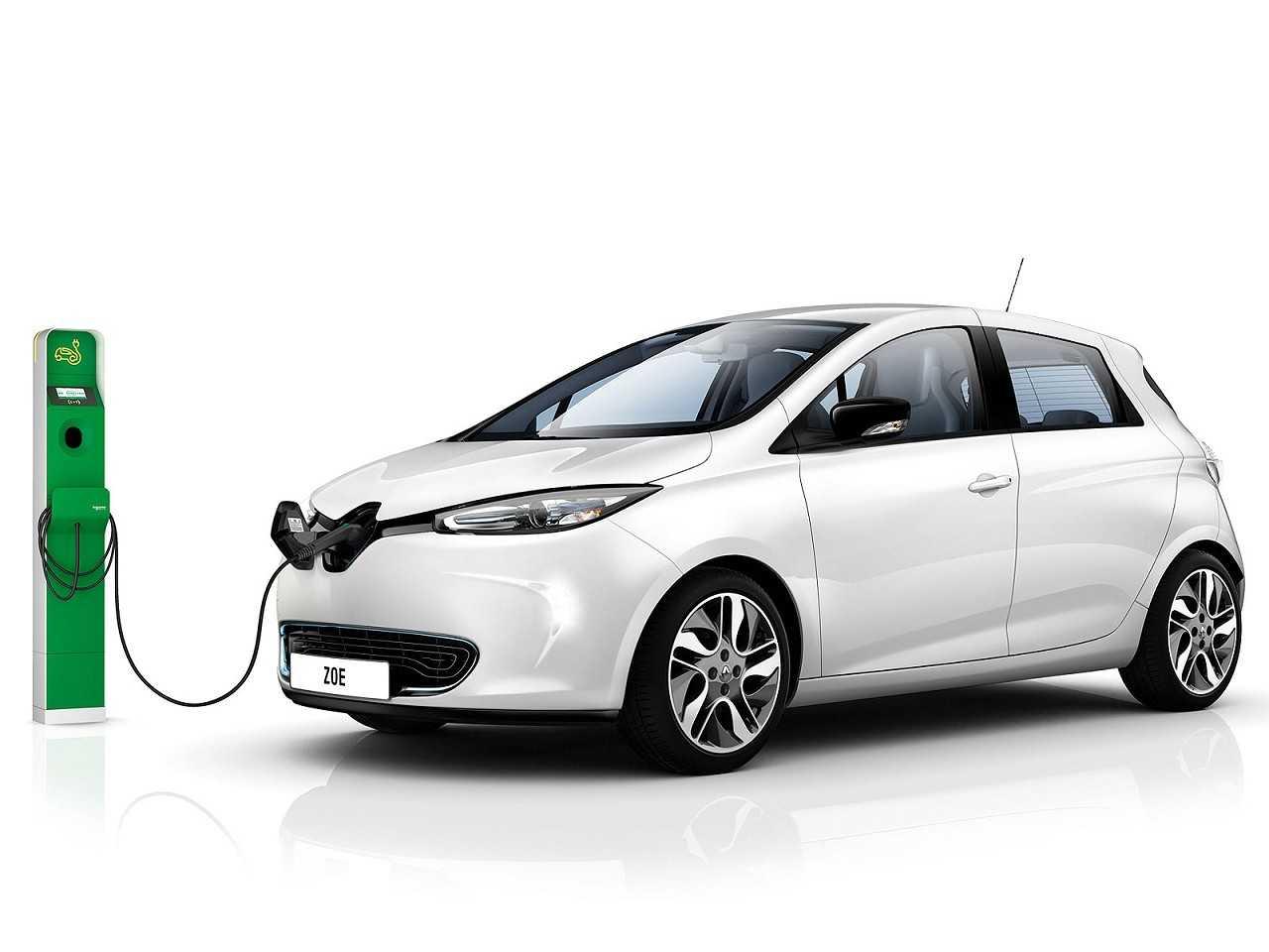 Renault Zoe, um dos modelos elétricos que opera no Brasil apenas vendido para empresas