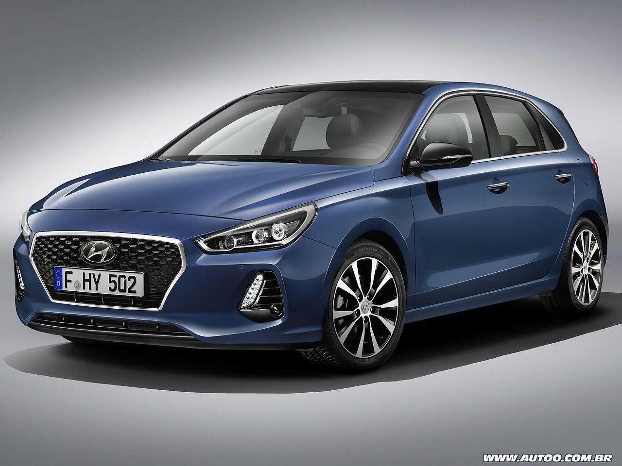 Hyundaii30 2017 - ângulo frontal