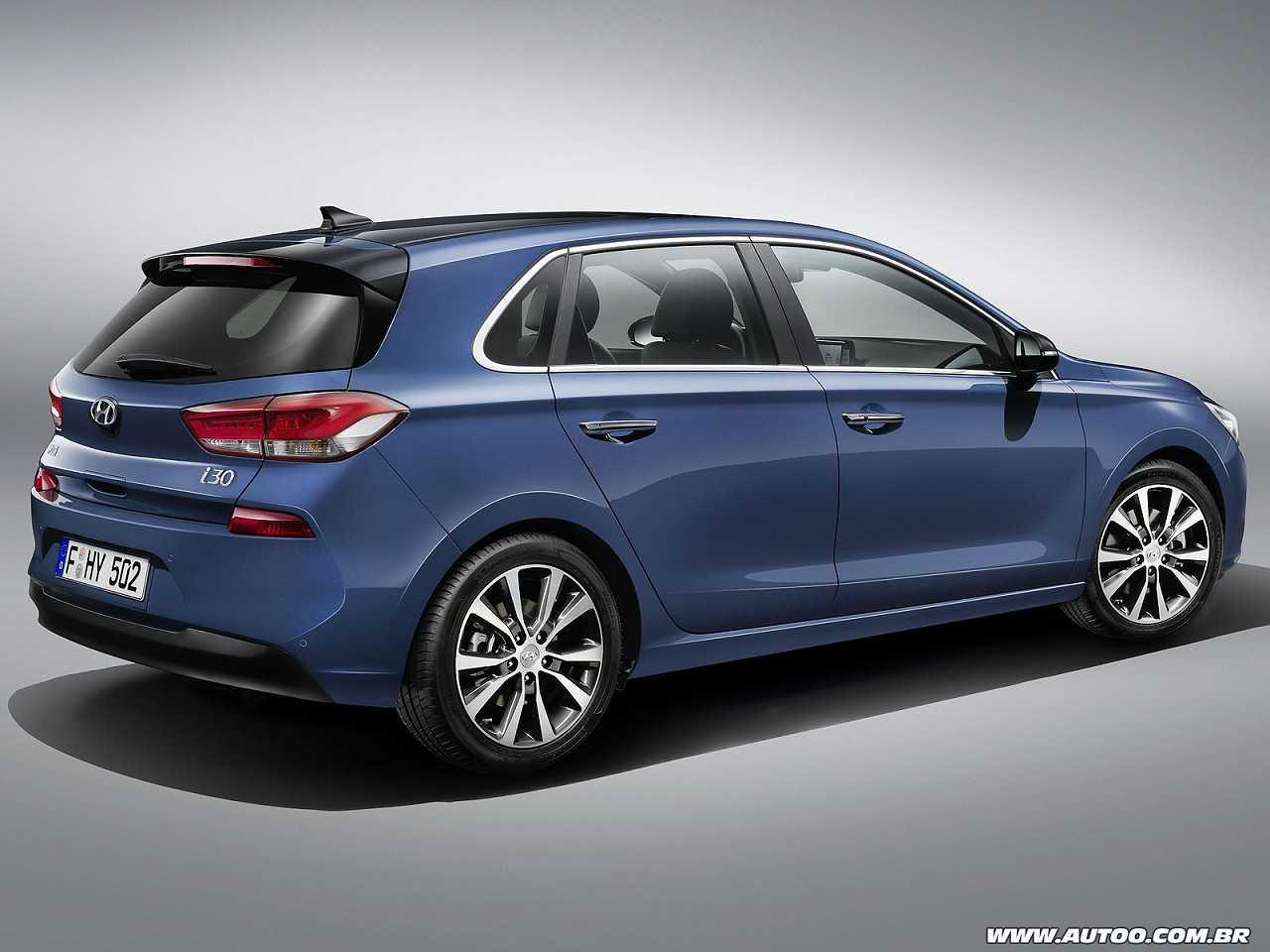 Hyundaii30 2017 - ângulo traseiro
