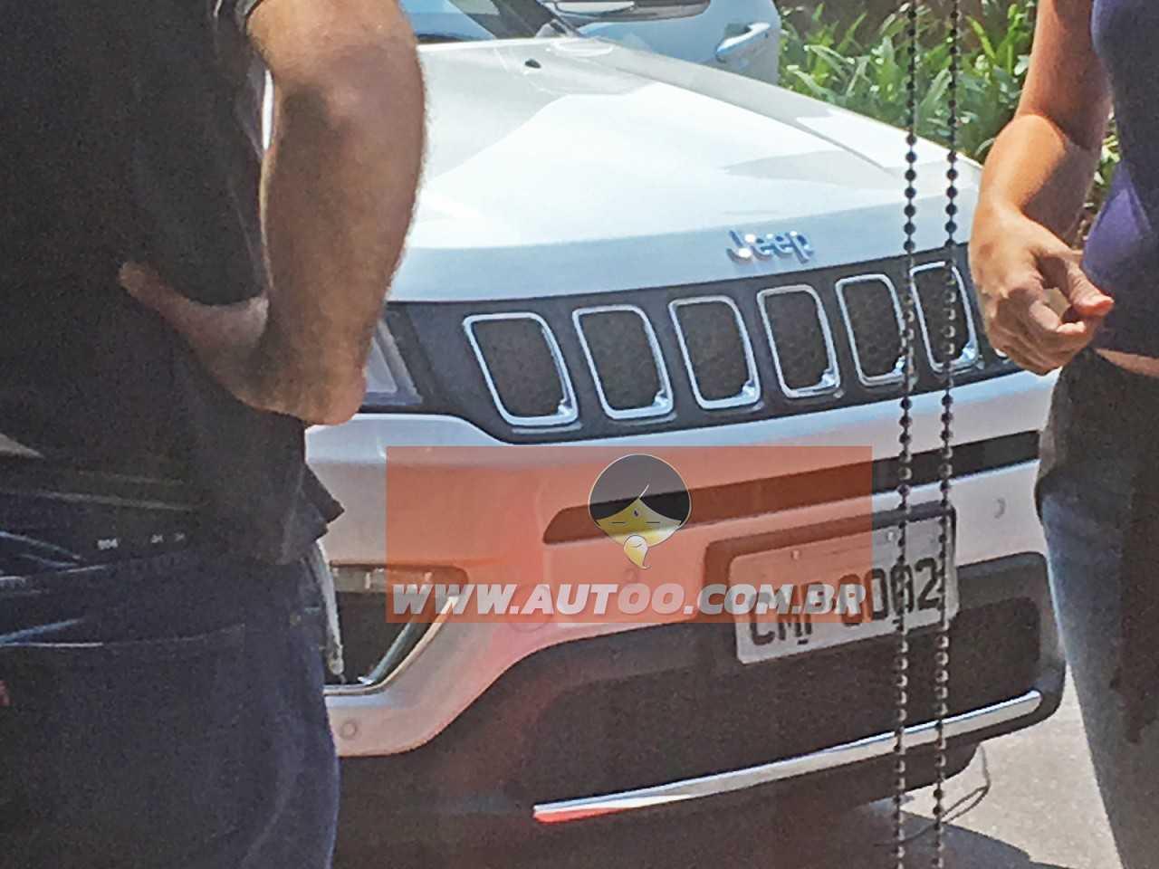JeepCompass 2017 - grade frontal